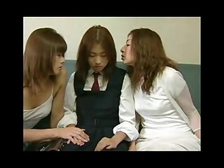 Japanlez - Two Asian Women Abuses Girl