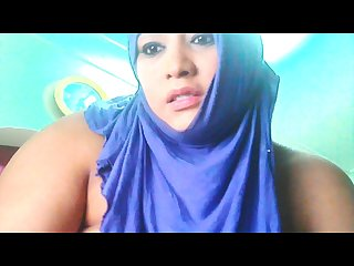 Arab girl webcam show open pussi
