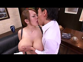 Hornycams pw asian with big tits undressing at the office