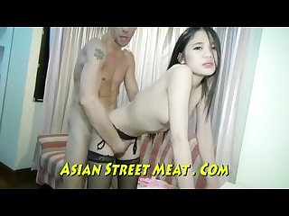 Cute asian destroyed