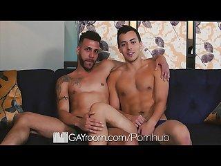 GayRoom - FX Rios Goes Deep In David Plaza�s Ass