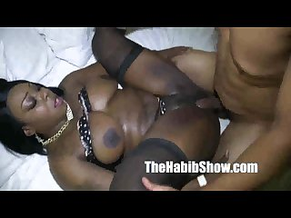 Ferrari blaque banged bbc redzilla she cant take the sperm