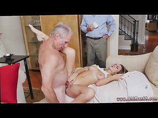 Old man fucks mom and friend\'s daughter and old moms fuck sons friend hd