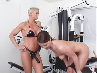 Strap on champion workout scene 1