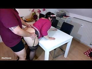 German big ass cutie anal fuck