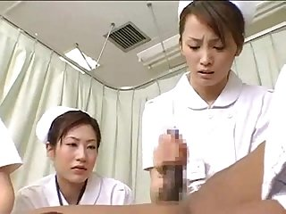 Japan nurses make big black cock cumm