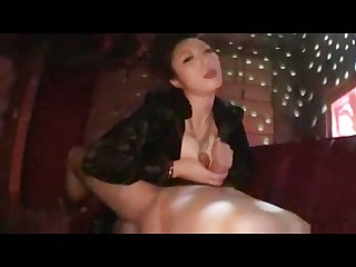Asian stripper sucks guys cock