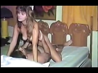 Hot amateur girl from 1980 s getting fucked
