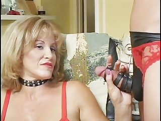She male enema part 1