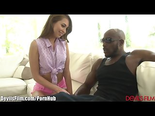 Riley reid begs dad to meet his black friend
