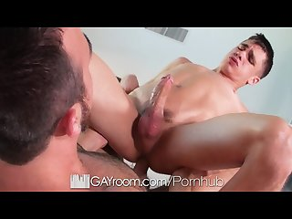 Gayroom kory houston massage goes hardcore