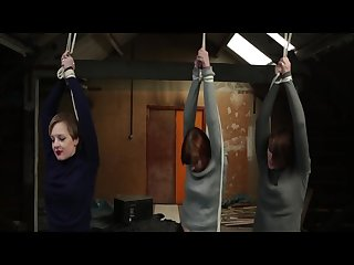 3 girls strung up