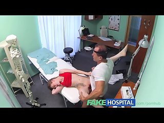 Fakehospital slender blonde uses her body and tongue to get a job