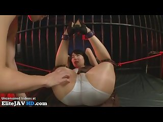 Japanese girlfriend hardcore bondage sex