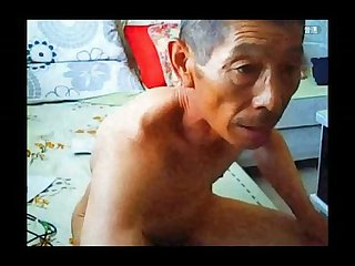 Asian old gay daddy