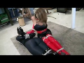 Hogtied superheroines