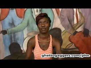 new nasty ghetto throat whore sade sparx is back after tap out