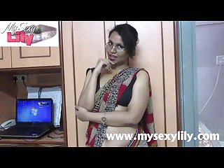 Indian babe lily sex teacher