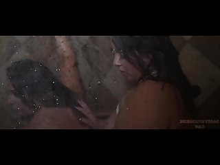 Amber nova bella mkay therealsabella sabella monize shower together