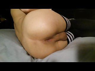 Fucking my ass in thigh high socks taylor95