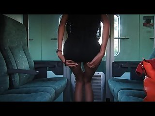 Trainhub pussy rubbing