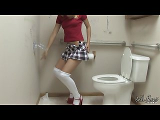 Chastity lynn toilet masturbation