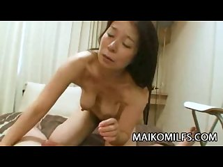 Akiko oda horny mature japanese begging for sex