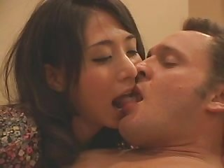 Wmaf japanese woman deepthroats bwc at dinner and wants creampie for deser
