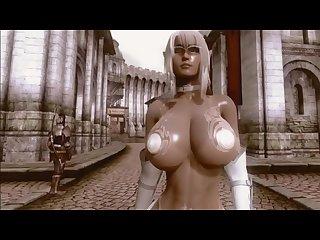 3d oblivion Savior bikini