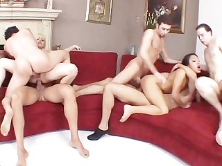 Teen summer gang bang scene 3