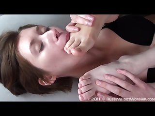 Russianfootworship first foot worship by irina 2