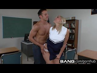 Bang com young cheerleading sluts