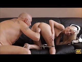Cock mad Teen fucks her boyfriend s father