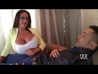 Milfs big tits provide the ultimate therapy