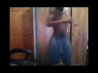 Me working out im back