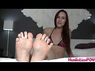 Jolene hexx feet pov tease