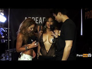 Pornhubtv jessica bangkok interview at 2015 avn awards
