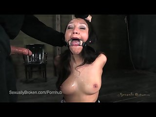 Hot latina vicki chase in bondage