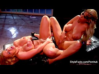 Super sexy fucking with shyla stylez and bridgette b