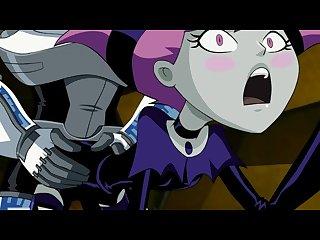 Teen Titans Jinx jinxed hq from zonetan Edited