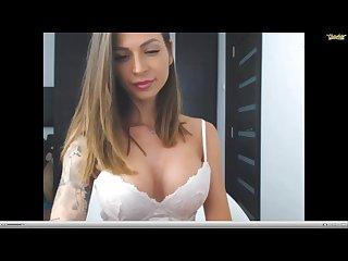 Sweet crazy hot lingerie tease