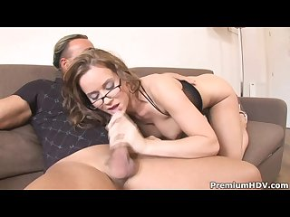Cindy dollar pussy and mouth banged
