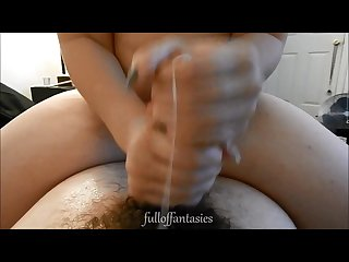 Amateur two handed handjob