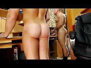 Big booty str8 russian guy on webcam