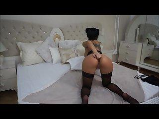 Anisyia livejasmin topless blowjob then painful anal