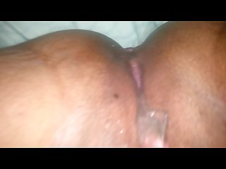 Ebony pussy squirting piss