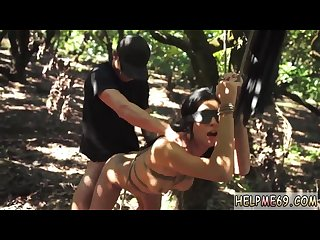 Straight guy tied first time teen jade jantzen has been walking for
