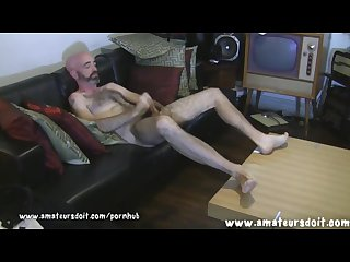 Max hot and hairy aussie amateur jerks off