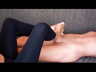 Massage footjob