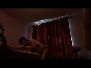 Real asian massage sucks my cock
